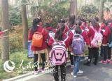 合肥包河区首创森林课堂 学生走进森林探究大自然