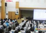 安徽无为中学刘萍校长为高三学生举行考前心理辅导报告会