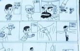 合肥小学生手绘漫画大冒险 成为火爆校园读物