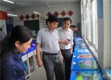 泾县中小学生(幼儿)艺术节艺术作品宣城市工业学校展隆重开展