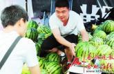 大学生放弃北漂甘当瓜农 用微信卖瓜设计宣传画