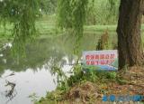 蚌埠市桃园小学制作安放警示牌,预防青少年溺水