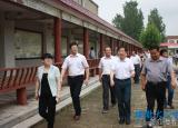 临泉县教育局到亳州谯城区学习标准化学校建设经验