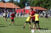 鳳陽工小代表中國參加瑞典國際青少年手球比賽