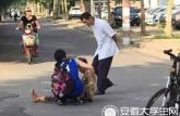 安徽大学生称扶老人被讹,目击者首度发声:老人并非被撞倒