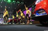 安徽第七届中国车模电视大赛:现场高温致模特突然昏厥