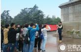 淮北师范大学寻找红色经典,缅怀革命先烈