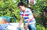 合肥90后大学生网上创业卖菜 送货上门并免收送货费