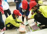 池州学院大学生开展图书漂流活动 进社区募集图书