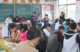广德县教学研究培训中心到新杭中学指导教学模式创新改革实验工作