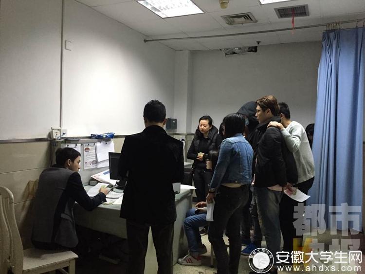安徽30余名大学生上吐下泻