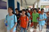 迎江区学校安置点受灾儿童迎来双赢帮扶