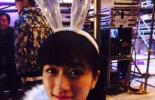 新度娘兔女郎装扮走红 大长腿性感抢镜