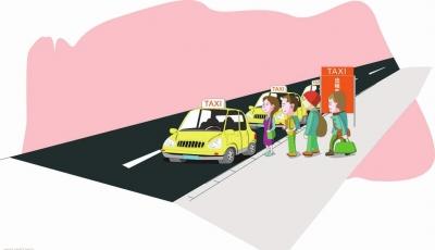 """马鞍山部分出租车拼客不打表 大学生打车返校遭遇""""一口价""""(图)"""
