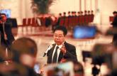 两会部长通道陈宝生首次亮相接受记者采访