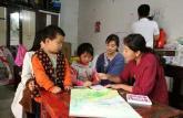 小女孩患病不能入校界首市10位女老师轮流义务上门辅导