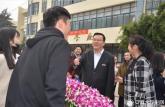 合肥师范学院举行花开十九大共筑合师梦插花艺术大赛
