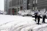 安徽涉外经济职业学院及时清雪保障师生安全
