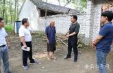 亳州职业技术学院赴贫困村走访慰问老党员