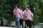 安徽大学生赴金寨红军革命根据地:寻红色足迹,访梅山英魂