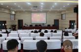 安徽能源技术学校纪委书记为全校党员上党课