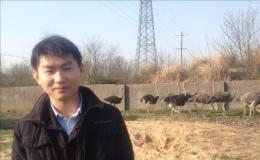 安庆李北亚:大学生返乡当起鸵鸟司令