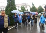 2018形象中国·全国百家媒体聚焦幸福六安记者团来毛坦厂中学采风