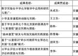 安徽省教育系统23个项目入选2018年国家级教学成果奖