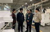 皖江职教中心学校赴企业看望实习学生