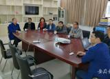 六安市金安经济开发区到皖西学院洽谈产学研合作事宜