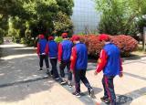 马鞍山经贸学校组建校园督察队和护校队