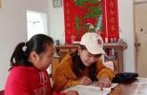 巢湖学院工商管理学院青协开展爱传五星课业辅导活动