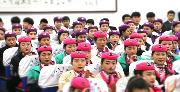 亳州工业学校民航城铁学子练就过硬本领放飞职业梦想