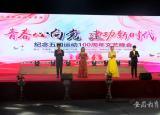 六安职业技术学院举办青春心向党建功新时代纪念五四运动100周年文艺晚会