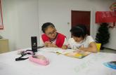 巢湖学院化院青协开展萤火虫计划系列活动十五之四点半课堂