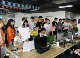 合肥信息技术职业学院组织学生参观安徽名淘网络科技有限公司