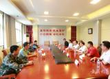 蚌埠学院扎实开展八一走访慰问活动