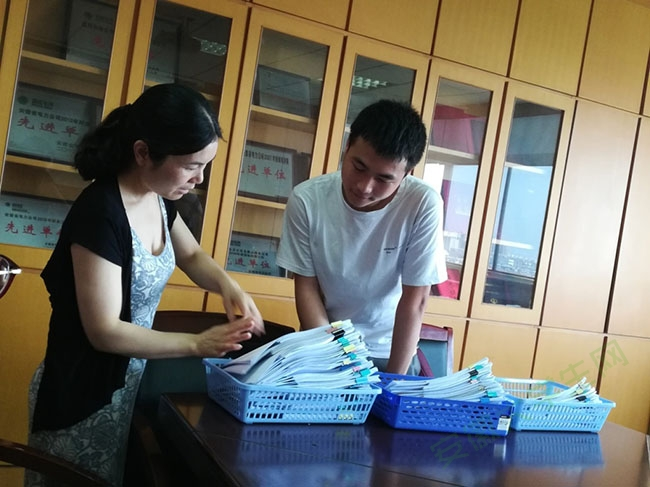 安徽工业大学赴金诚会计师事务所实践首天工作画上圆满句号