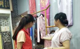 淮北师范大学赴苏州社会实践实地调研一带一路苏绣文化