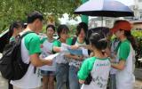 安徽师大学子赴九华代村爱心支教:赤日下前行的绿影