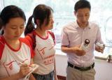 安徽师大学子走进富光实业:激流奋进,面向未来