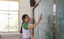 安徽师大学子三下乡支教:手写活动,寄寓情谊