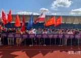 安徽工程大学组织党外人士参加芜湖市第六届统战系统同心运动会