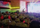 滁州學院軍民聯歡慶祝新中國成立70周年
