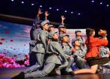 安徽工业经济职业技术学院参加省地矿局合肥片地勘单位歌咏比赛