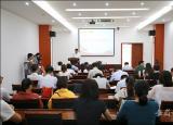 滁州學院16名教職工深情演講緻敬祖國