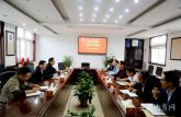 安徽省煤田地质局到安徽电子工程学校开展专题调研