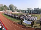 淮北卫校承载体育运动增进学生体质健康