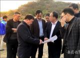 滁州学院实地考察调研校园规划修编工作