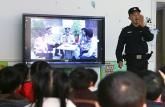 亳州幼师第一附属幼儿园光荣的小警察家园共育助成长